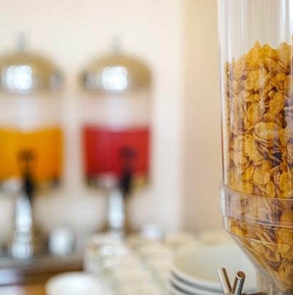 Cereals & Juice Breakfasts at Wildercombe House